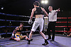Kelly Morgan v Klaudia Vigh -  during a Boxing show at Bath Pavilion, Bath, Avon, promoted by Black Country Boxing Promotion on 18/07/2015 - MANDATORY CREDIT: Chris Royle/TGSPHOTO