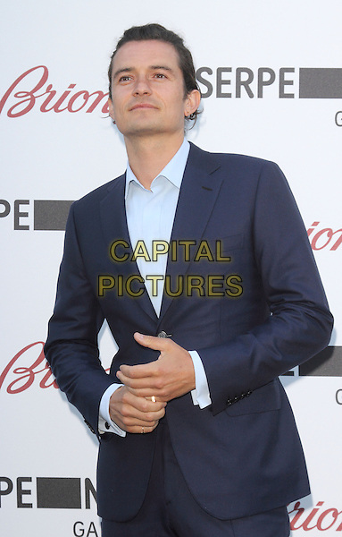LONDON, UNITED KINGDOM - JULY 01: Orlando Bloom attends the annual Serpentine Gallery Summer Party at The Serpentine Gallery on July 1, 2014 in London, England<br /> CAP/ROS<br /> &copy;Steve Ross/Capital Pictures