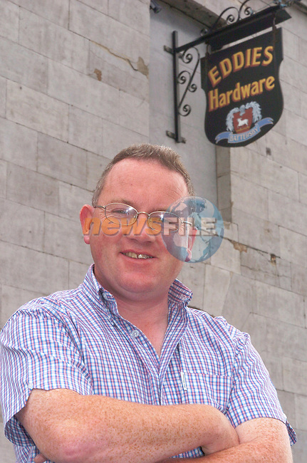 Eddie Battersby from Eddies hardware in Drogheda.Photo Fran Caffrey Newsfile.ie..This Picture has been sent to you by Newsfile Ltd..The Studio,.Millmount Abbey,.Drogheda,.Co. Meath,.Ireland..Tel: +353(0)41-9871240.Fax: +353(0)41-9871260.ISDN: +353(0)41-9871010.www.newsfile.ie..general email: pictures@newsfile.ie