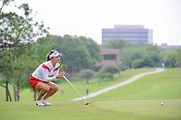 So Yeon Ryu (KOR) lines up her putt on 9 during round 2 of  the Volunteers of America Texas Shootout Presented by JTBC, at the Las Colinas Country Club in Irving, Texas, USA. 4/28/2017.<br /> Picture: Golffile | Ken Murray<br /> <br /> <br /> All photo usage must carry mandatory copyright credit (&copy; Golffile | Ken Murray)