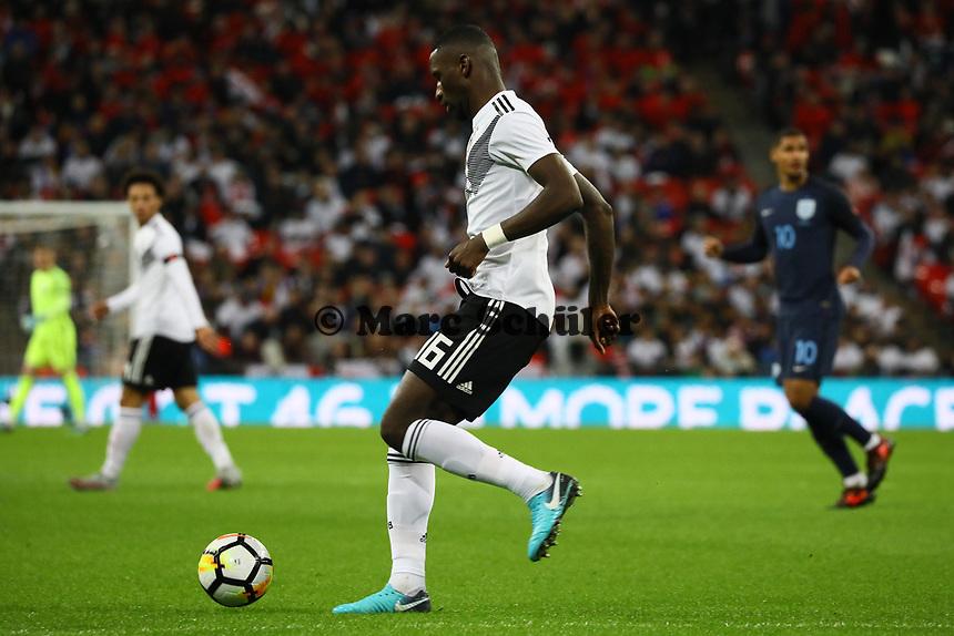 Antonio Rüdiger (Deutschland Germany) - 10.11.2017: England vs. Deutschland, Freundschaftsspiel, Wembley Stadium
