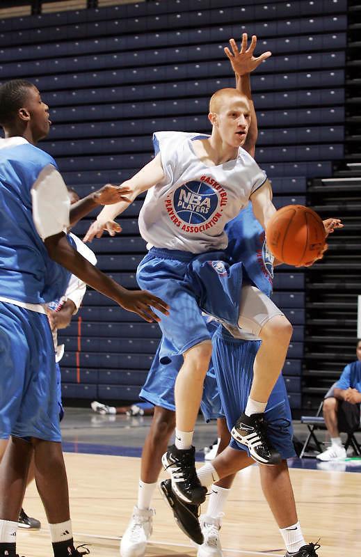 PG Zack Rosen (Newark, NJ / St. Benedictís) shoots the ball during the NBA Top 100 Camp held Thursday June 21, 2007 at the John Paul Jones arena in Charlottesville, Va. (Photo/Andrew Shurtleff)