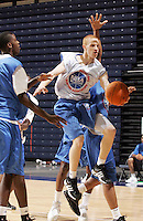 PG Zack Rosen (Newark, NJ / St. Benedictís) shoots the ball during the NBA Top 100 Camp held Thursday June 21, 2007 at the John Paul Jones arena in Charlottesville, Va. (Photo/Andrew Shurtleff)