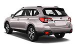 Car pictures of rear three quarter view of 2019 Subaru Outback Premium 5 Door Wagon Angular Rear