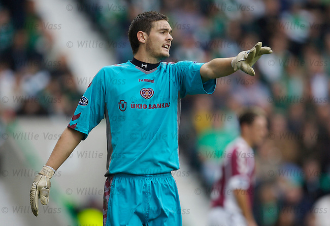 Craig Gordon, Hearts.stock season 2006-2007.pic willie vass
