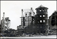 BNPS.co.uk (01202 558833)<br /> Pic:  ChiswickAuctions/BNPS<br /> <br /> Hanover left in ruins following the allies bombing raids.<br /> <br /> Remarkable previously unseen photos documenting the momentous closing stages of World War Two and its historic aftermath have come to light.<br /> <br /> They were taken by Sergeant Charles Hewitt, of the Army Film and Photographic Unit, who later went on to work for the Picture Post and the BBC.<br /> <br /> He was present at many of the important offensives of 1944 and '45 including the Battle of Monte Cassino during the Italian Campaign and the Allies advance into Germany following the D-Day invasion.