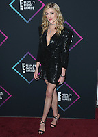 SANTA MONICA - NOVEMBER 11:  Katherine McNamara at the People's Choice Awards 2018 at The Barker Hangar on November 11, 2018 in Santa Monica, California. (Photo by Xavier Collin/PictureGroup)