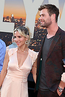 """LOS ANGELES - JUL 22:  Elsa Pataky, Chris Hemsworth at the """"Once Upon a Time in Hollywood"""" Premiere at the TCL Chinese Theater IMAX on July 22, 2019 in Los Angeles, CA"""