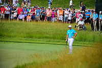 Rory McIlroy (NIR) looks over his putt or chip on 12 during Friday's round 2 of the 117th U.S. Open, at Erin Hills, Erin, Wisconsin. 6/16/2017.<br /> Picture: Golffile | Ken Murray<br /> <br /> <br /> All photo usage must carry mandatory copyright credit (&copy; Golffile | Ken Murray)