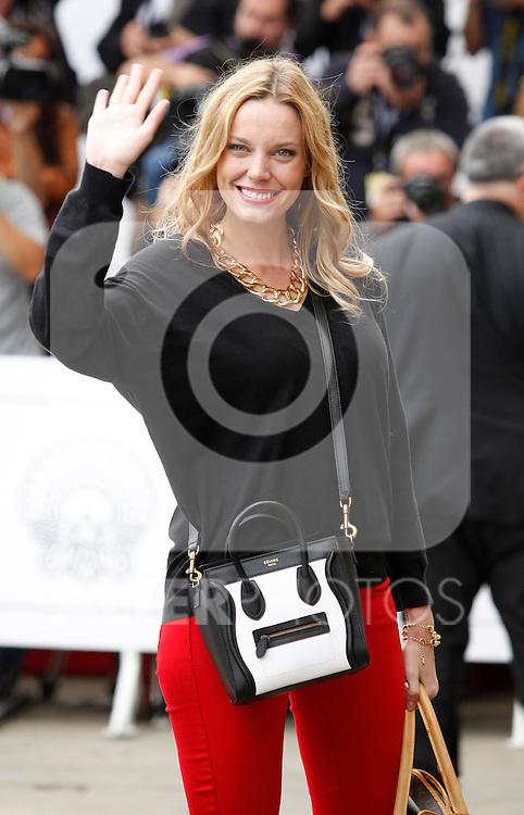 Actress Carolina Bang arrives to Maria Cristina Hotel to attend the 61 San Sebastian Film Festival, in San Sebastian, Spain. September 20, 2013. (ALTERPHOTOS/Victor Blanco)
