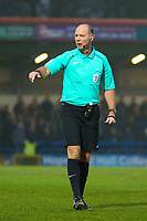 Referee Andy Haines during the Sky Bet League 1 match between Rochdale and Walsall at Spotland Stadium, Rochdale, England on 23 December 2017. Photo by Juel Miah / PRiME Media Images.