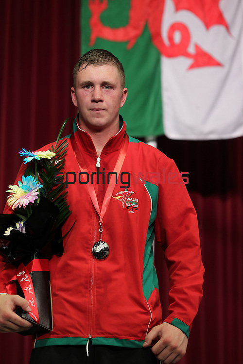 Isle of Man 2011 Commonwealth Youth Games..Mens Light Heavyweight Final.Calum Evans (Wales) Silver.10.09.11.©Steve Pope