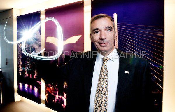 André Papoular, CEO at Schréder, producing outdoor luminaires for the sustainable well- being of urban or rural communities (Belgium, 04/11/2014)