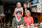 A group of wonderful friends celebrating their friend Margaret's special birthday on Friday night at Bella Bia's.  From l-r  Birthday Girl, Margaret Lenihan, Lismore Joan Carmody, Linda O'Connor and Helen McElligott