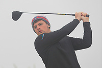 TJ Ford (Co. Sligo) on the 1st tee during Round 1 - Matchplay of the North of Ireland Championship at Royal Portrush Golf Club, Portrush, Co. Antrim on Wednesday 11th July 2018.<br /> Picture:  Thos Caffrey / Golffile