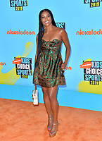 SANTA MONICA, USA. July 11, 2019: Gabrielle Union at Nickelodeon's Kids' Choice Sports Awards 2019 at Barker Hangar.<br /> Picture: Paul Smith/Featureflash