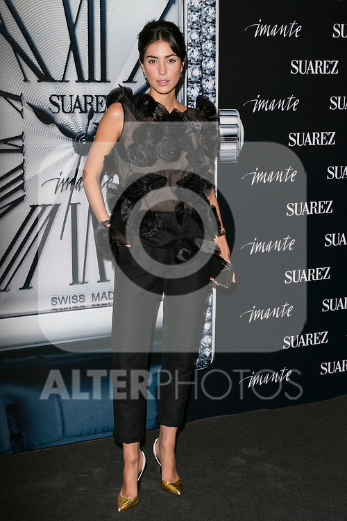 "Alessandra de Osma at the presentation of the first woman watch of Suarez Brand at ""La casa encendida"" in Madrid, Spain. October 15, 2014. (ALTERPHOTOS/Carlos Dafonte)"