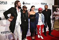 LOS ANGELES, CA - NOVEMBER 13: Nick Thune, Usher Raymond IV, Gillian Alexy, Kaily Smith Westbrook and Jermaine Dupri at People You May Know at The Pacific Theatre at The Grove in Los Angeles, California on November 13, 2017. Credit: Robin Lori/MediaPunch