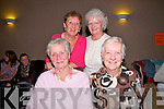 Pattern Day in Ballybunion: Pictured at then Pattern Day dance in the Golf Hotel, ballybunion on Thursday last were in front Maureen Lawlor & Kitty Kelly. Back : Mary Browne McCarthy & Joan Lennon.