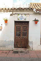 Doorway, house, old town, Calle de los Reyes, Street of the King and Queen, Estepona, Spain, October, 2018, 201810085184<br />