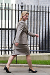 © Joel Goodman - 07973 332324 . 11/05/2015 . London , UK . JUSTINE GREENING leaves 10 Downing Street this afternoon (11th May 2015) . Photo credit : Joel Goodman