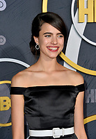 LOS ANGELES, USA. September 23, 2019: Margaret Qualley at the HBO post-Emmy Party at the Pacific Design Centre.<br /> Picture: Paul Smith/Featureflash