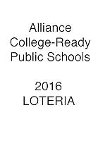 Alliance 2016 Loteria
