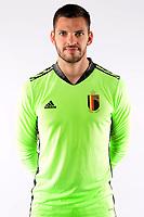 Hendrik Van Crombrugge goalkeeper of Belgium  <br /> Tubize 12/11/2019 <br /> Calcio presentazione della nuova maglia della Nazionale del Belgio <br /> Photo De Voecht  Kalut/Photonews/Panoramic/insidefoto<br /> ITALY ONLY