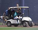 MLB: Ichiro of Seattle Mariners injures right leg during MLB spring training game