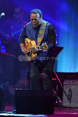 HOLLYWOOD FL - MAY 10: George Benson performs at Hard Rock Live held at the Seminole Hard Rock Hotel & Casino on May 10, 2016 in Hollywood, Florida. Credit: mpi04/MediaPunch