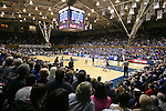 30 January 2012: A wide shot of the court. The Duke University Blue Devils played the University of Connecticut Huskies at Cameron Indoor Stadium in Durham, North Carolina in an NCAA Division I Women's basketball game.