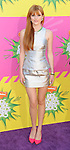 Bella Thorne arriving at the 2013 Nickelodeon Kid's Choice Awards, held at the USC Galen Center in Los Angeles, CA. on March 23, 2013.
