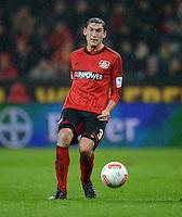 FUSSBALL   1. BUNDESLIGA   SAISON 2012/2013    20. SPIELTAG Bayer 04 Leverkusen - Borussia Dortmund                  03.02.2013 Stefan Reinartz (Bayer 04 Leverkusen) Einzelaktion am Ball
