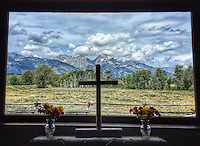 (i) Chapel View - Tetons - Wyoming - this is an iPhone photograph. Printing is only up to 16x24 inches.