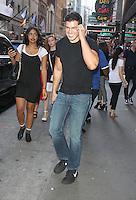 NEW YORK, NY-September 09: Gio Benitez at Good Morning America in New York. NY September 09, 2016. Credit:RW/MediaPunch