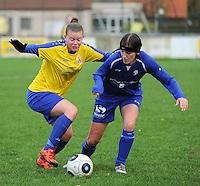 2015.11.21 Famkes Merkem - Union Saint Ghislain Tertre Hautrage Ladies