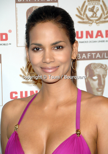 Halle Berry arriving at the 2006 BAFTA / LA Britannia Awards at the Century Plaza  Hotel in Los Angeles.<br /> <br /> headshot<br /> smile<br /> eye contact