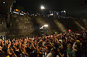 July 31, 2011 - Yokohama, Japan - A photo released on August 3 shows the crowd of the Red Bull Art of Motion event. This free running competition was first established to the world in 2007 as it made its first debut in London in March 2011. (Photo by Yumeto Yamazaki/AFLO)