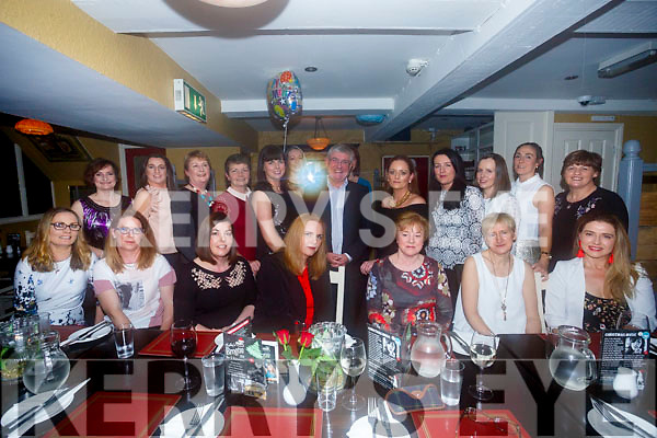Nora Casey, Scartaglen celebrates 35 years serves at Bon Secours Hospital, Tralee enjoying a night out with work colleagues at the Brogue Inn on friday