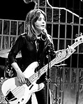 Suzi Quatro 1973 on Top Of The Pops.© Chris Walter.