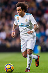 Marcelo Vieira Da Silva of Real Madrid in action during the La Liga 2017-18 match between Real Madrid and UD Las Palmas at Estadio Santiago Bernabeu on November 05 2017 in Madrid, Spain. Photo by Diego Gonzalez / Power Sport Images