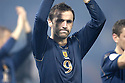 17/11/2007      Copyright Pic: James Stewart.File Name : sct_jspa11_scotland_v_italy.A DEJECTED JAMES MCFADDEN AT THE END OF THE GAME....James Stewart Photo Agency 19 Carronlea Drive, Falkirk. FK2 8DN      Vat Reg No. 607 6932 25.Office     : +44 (0)1324 570906     .Mobile   : +44 (0)7721 416997.Fax         : +44 (0)1324 570906.E-mail  :  jim@jspa.co.uk.If you require further information then contact Jim Stewart on any of the numbers above........