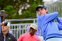J.T. Poston (USA) watches his tee shot on 10 during round 3 of the Valero Texas Open, AT&amp;T Oaks Course, TPC San Antonio, San Antonio, Texas, USA. 4/22/2017.<br /> Picture: Golffile | Ken Murray<br /> <br /> <br /> All photo usage must carry mandatory copyright credit (&copy; Golffile | Ken Murray)