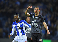 12th February 2019; Dragao Stadium, Porto, Portugal; League Cup 2019/2020, FC Porto versus Academico de Viseu; Chancel Mbemba of FC Porto reacts to a close miss on goal