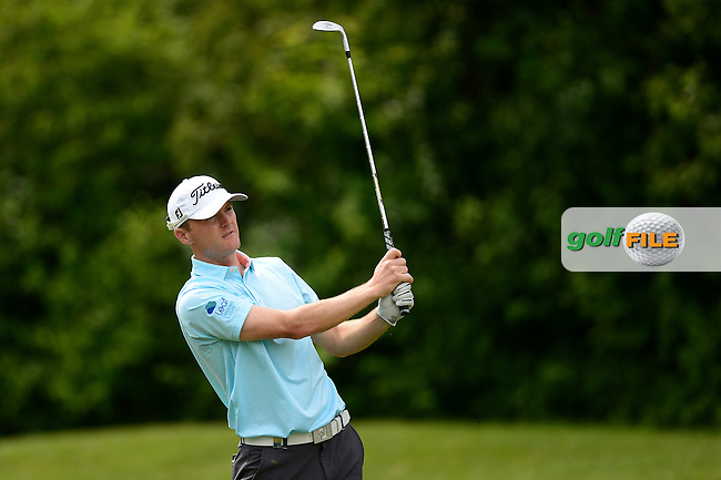 Michael Hoey of Northern Ireland during Round 3 of the Lyoness Open, Diamond Country Club, Atzenbrugg, Austria. 11/06/2016<br /> Picture: Richard Martin-Roberts / Golffile<br /> <br /> All photos usage must carry mandatory copyright credit (&copy; Golffile | Richard Martin- Roberts)
