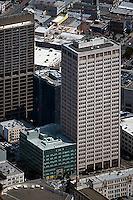 aerial photograph California Automobile Association building 100 Van Ness Avenue San Francisco
