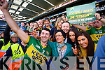 Aidan O'Mahony. Kerry players celebrate their victory over Donegal in the All Ireland Senior Football Final in Croke Park Dublin on Sunday 21st September 2014.