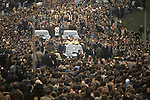Ireland The Troubles. Belfast Catholic Bobby Sands funeral procession May 1981. An elected MP he died on hunger strike while in HM Prison Maze (also known as Long Kesh). 1980s