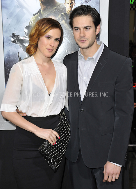 WWW.ACEPIXS.COM....March 28 2013, LA....Rumer Willis, Jayson Blair arriving at the 'G.I. Joe: Retaliation' Los Angeles premiere at the TCL Chinese Theatre on March 28, 2013 in Hollywood, California.......By Line: Peter West/ACE Pictures......ACE Pictures, Inc...tel: 646 769 0430..Email: info@acepixs.com..www.acepixs.com