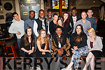 Party<br /> -------<br /> Ebunoluwa Osinubi,Ballinorig,Tralee(seated centre) celebrated her 22nd birthday last Wednesday night in the AbbeyInn,Tralee along with friends and family
